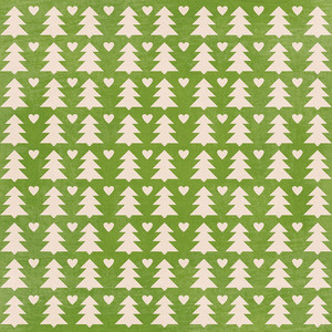 tree fair isle christmas background paper