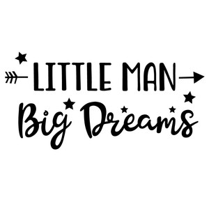 little man big dreams arrow quote