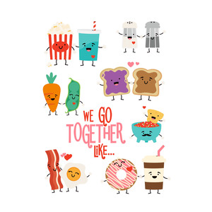 we go together stickers