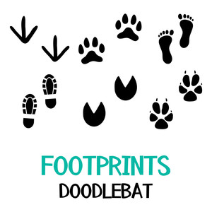 footprints doodlebat