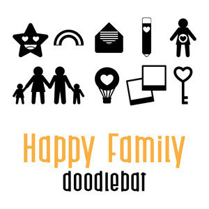 happy family doodlebat