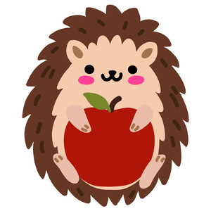 kawaii hedgehog