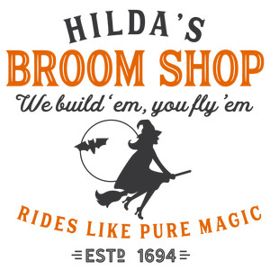 hilda's broom shop