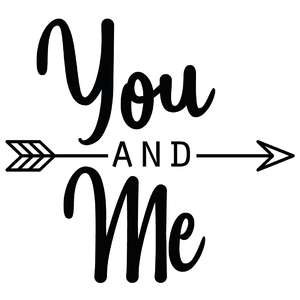 you and me arrow quote