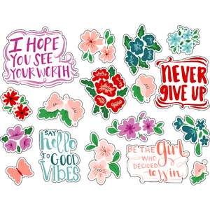 ml motivational quote stickers
