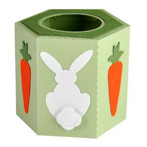 bunny easter egg cup