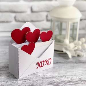 love letter box card