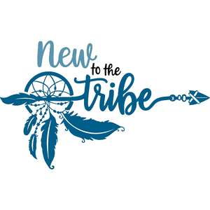 new to the tribe boho arrow