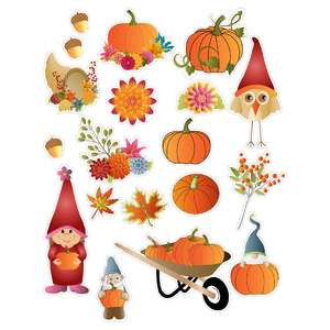 halloween gnomes planner stickers