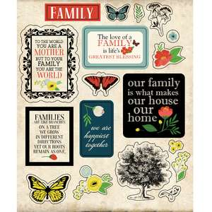 ml family flowers stickers