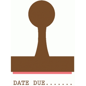 library date stamp