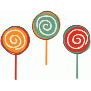 birthday lollipops