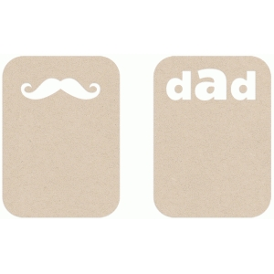 dad's stash album cards