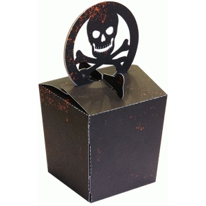 box skull topper (glue less)