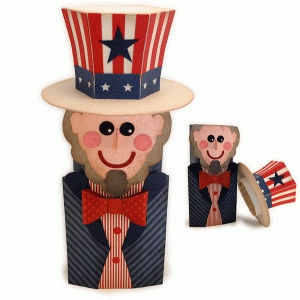 uncle sam canister wrap