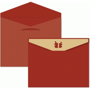 envelope 8.5x10.5 for fire truck box card