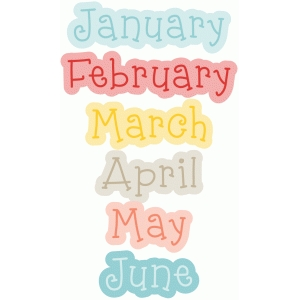january-june months