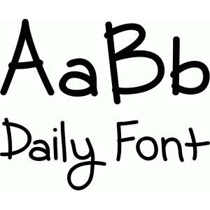lw daily font