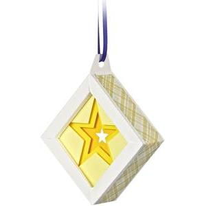3d star christmas tree ornament shadow box
