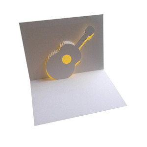 guitar popup card