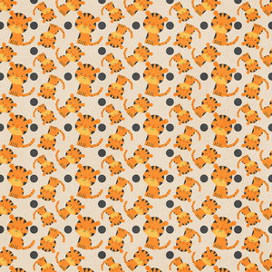 zoo tiger paper
