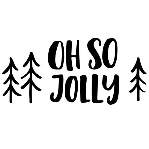 oh so jolly, christmas phrase