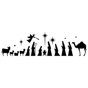 simple full nativity