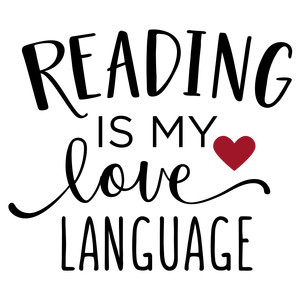 reading is my love language phrase
