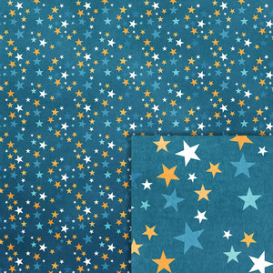 camping stars background paper