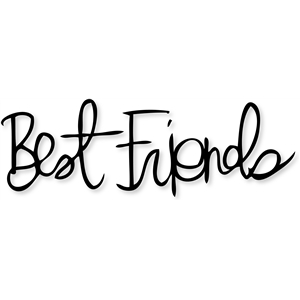 'best friends'