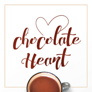 chocolate heart font family
