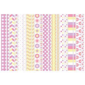 baby girl washi tape
