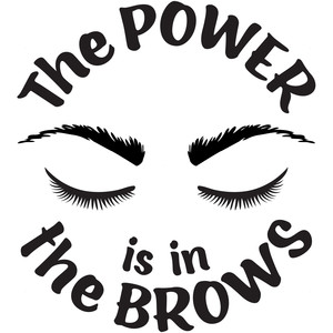 the power is in the brows