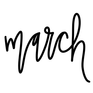march word art