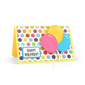 gift card holder balloons