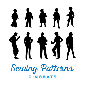 sewing patterns font