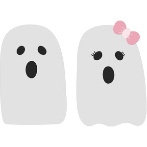 ghost couple girl and boy