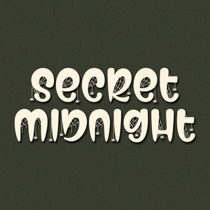 secret midnight font