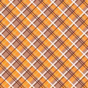autumn plaid pattern