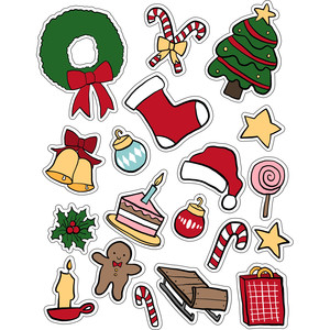 ml christmas stuff stickers