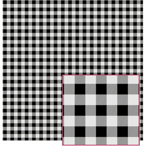 black and grey buffalo plaid pattern