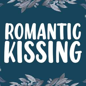 romantic kissing
