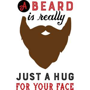 a beard is really quote