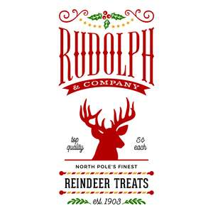 rudolph and company reindeer treats