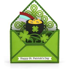 box card envelope st patrick's day