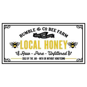 local honey - bee design