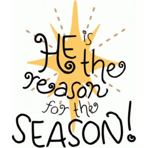 reason for the season my font