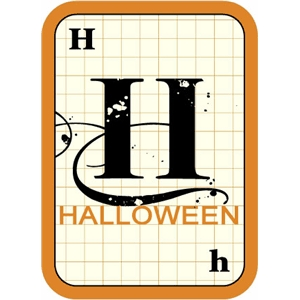 flashcard: halloween