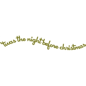 phrase: night before Christmas