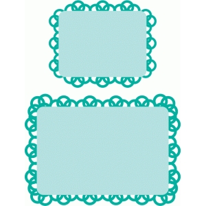 doily journaling cards 3x4, 4x6